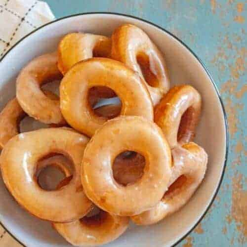 Beth's Famous Glazed Yeast Donuts