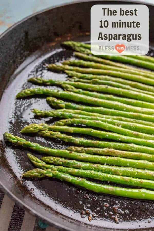 How to Cook Asparagus on the Stovetop | Easy Asparagus Recipe