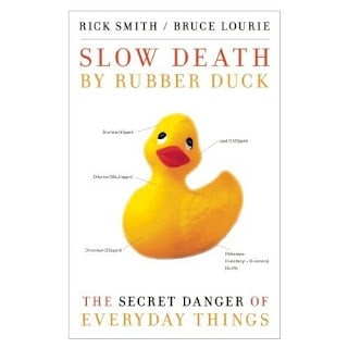 Image of a book titled Slow Death by Rubber Duck