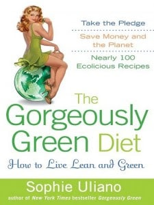 Image of a cookbook titled The Gorgeously Green Diet