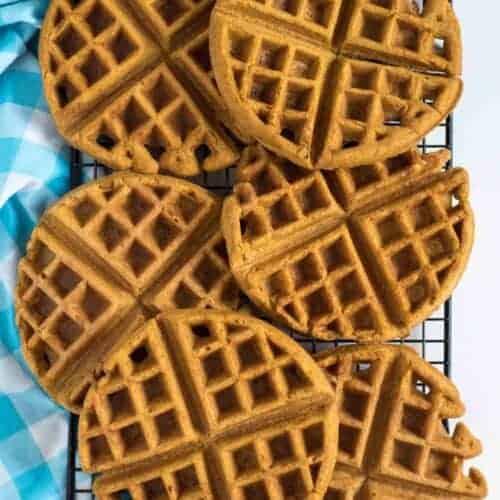 Whole Wheat Pumpkin Waffles Recipe