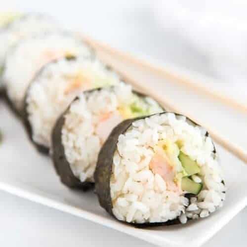 Easy Shrimp Sushi Recipe