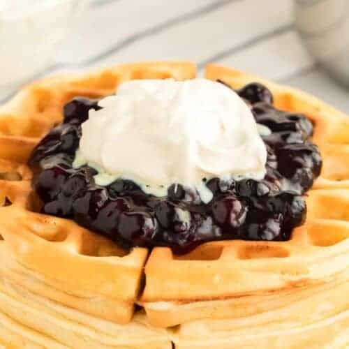 Blueberry Topping for Waffles, Pancakes, or Ice Cream
