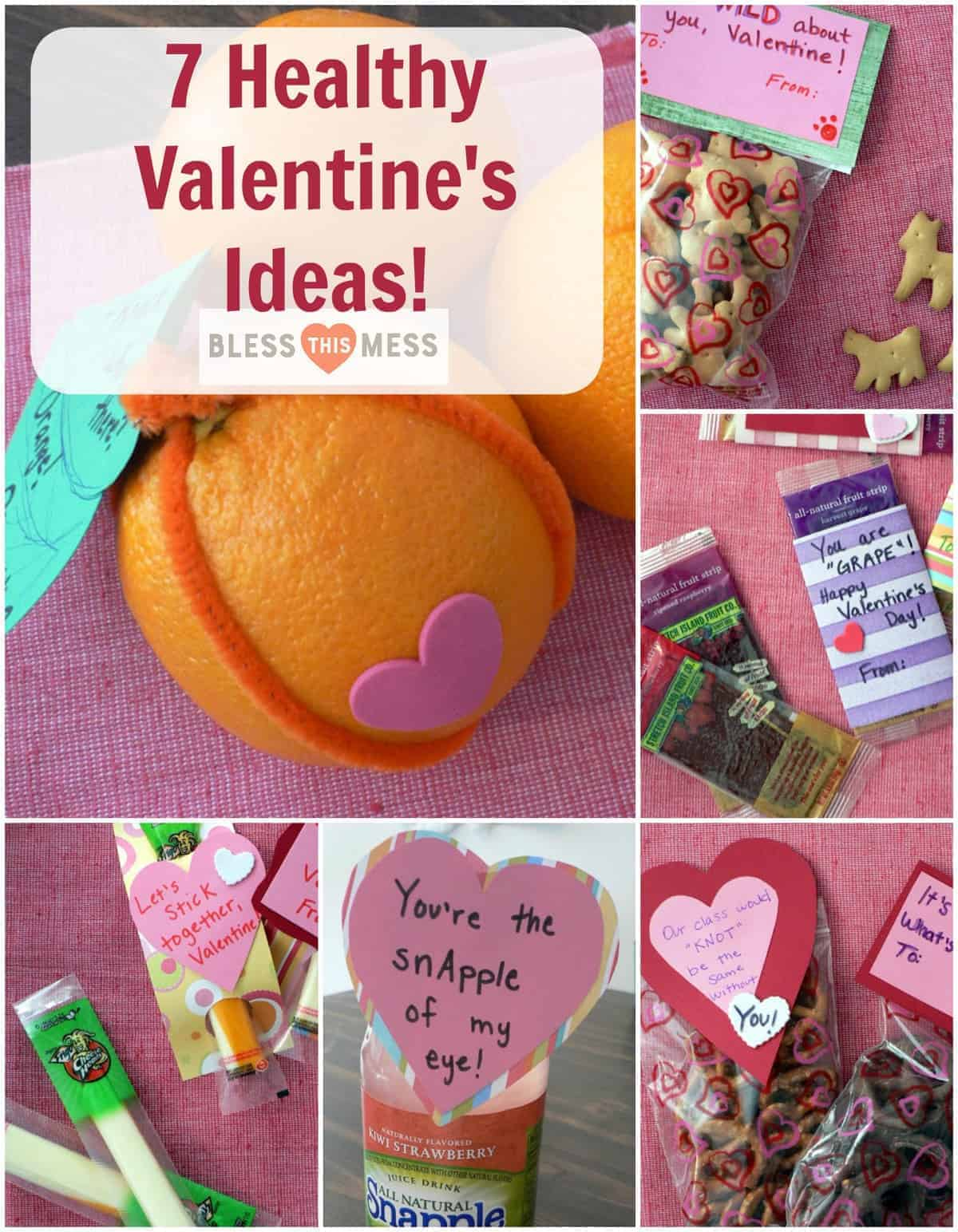 Healthy Valentine's Treats to take to school!