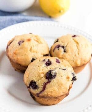 Fruity and light, Blueberry Lemon Muffins are the perfect on-the-go breakfast, and they're easier than you could imagine to make.