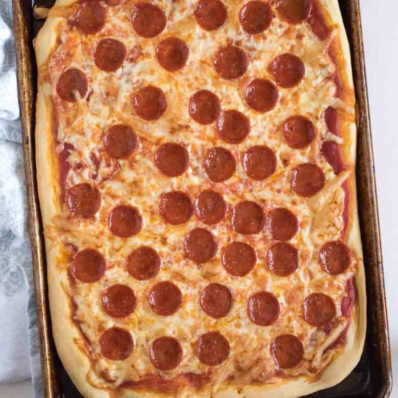 The best easy pizza crust bless this mess the best easy pizza dough recipe sisterspd