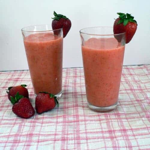 Strawberry Lemonade Slushie