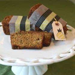 Zucchini Pineapple Bread and a Giveaway