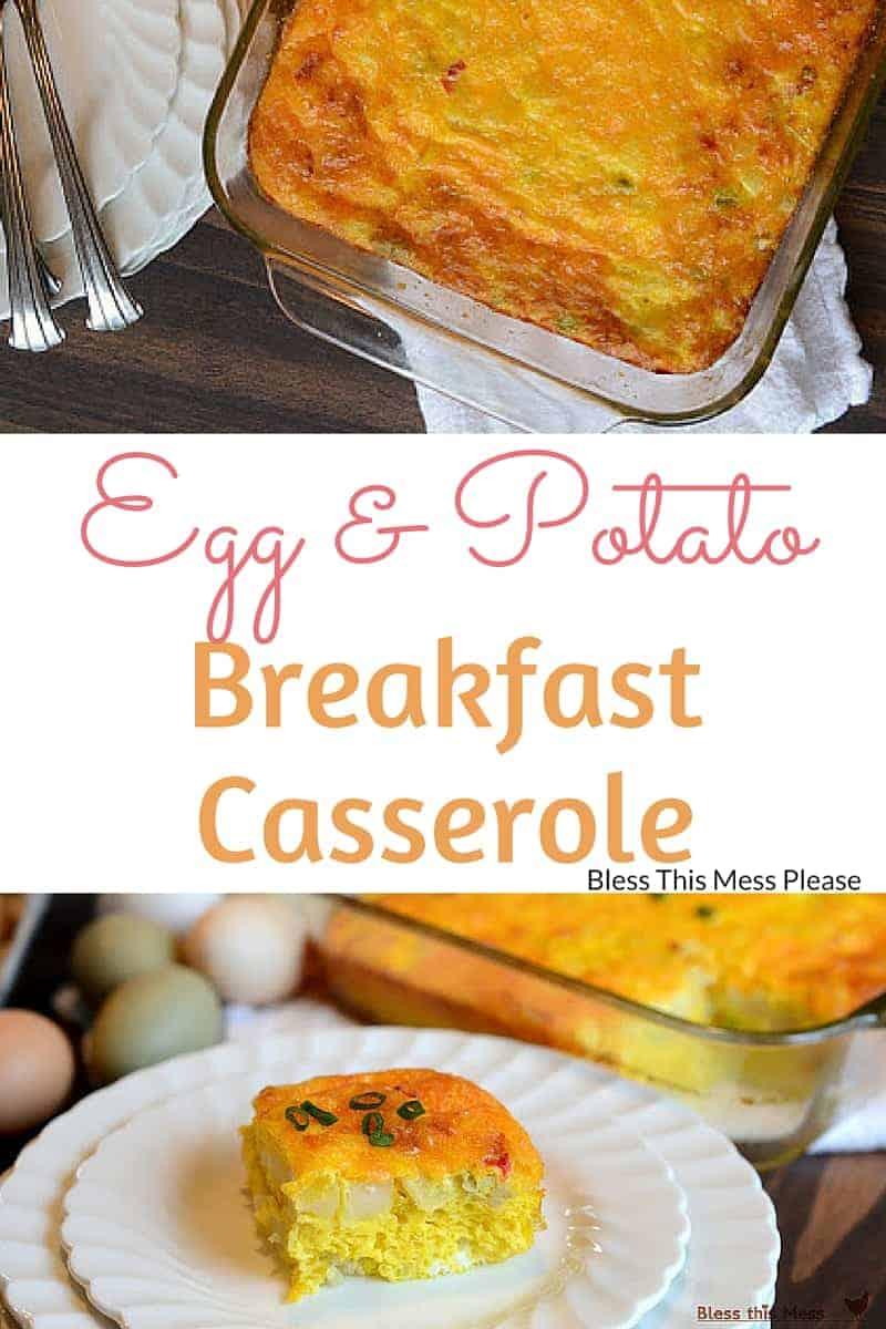 Egg and Potato Breakfast Casserole