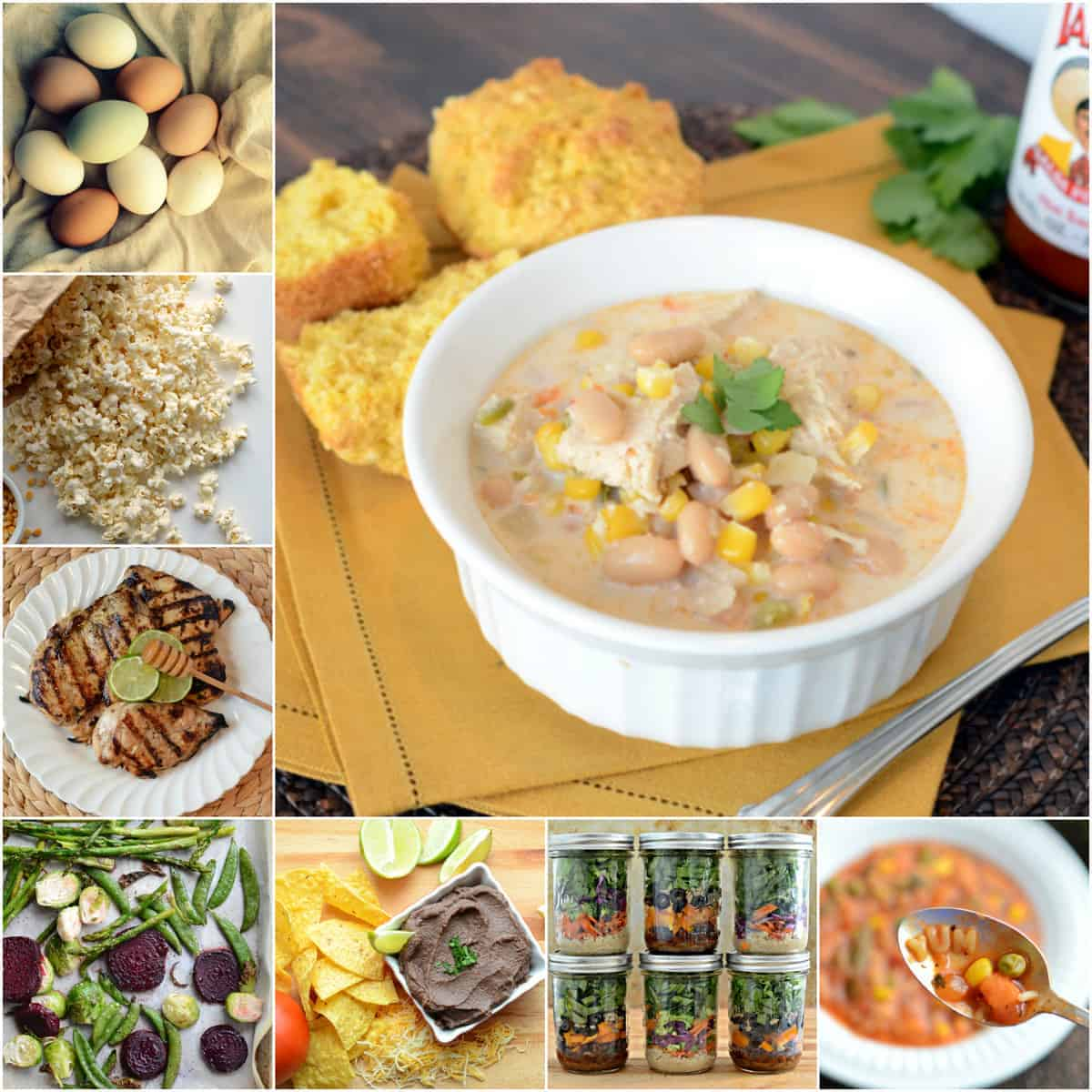 14 day Clean Eating Meal Plan for the Whole Family!