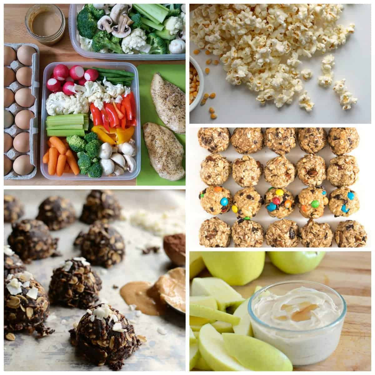 Snacks - Clean Eating Meal Plan