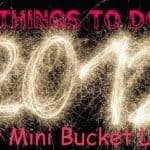 12 Things to do in 2012