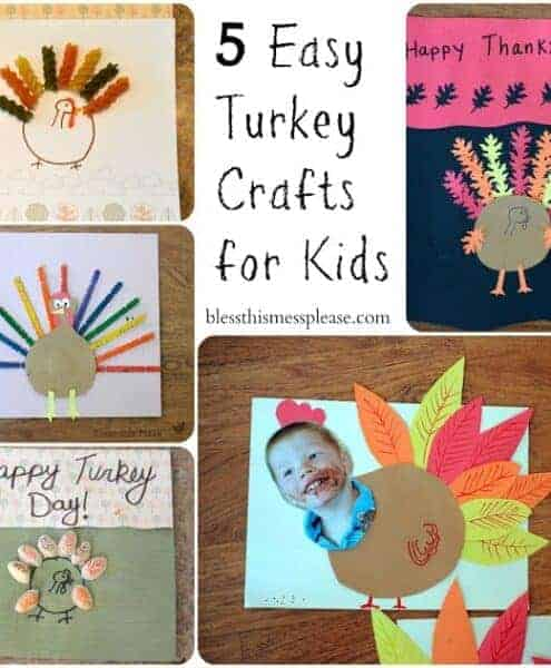 Turkey Crafts for Kids Image