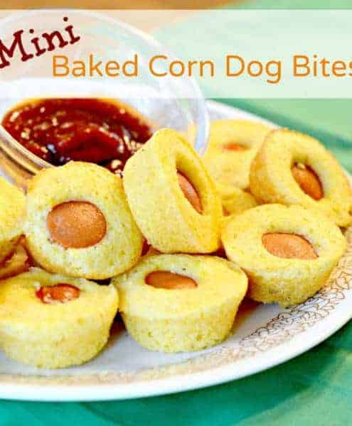 Image of Mini Corn Dog Bites