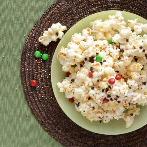 Gooey Marshmallow Popcorn with Chocolate