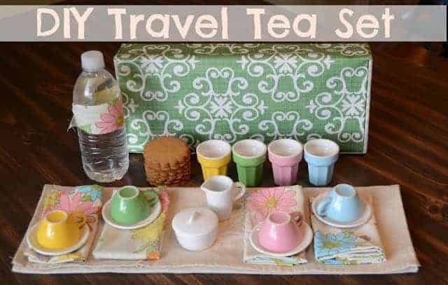 DIY Travel Tea Set