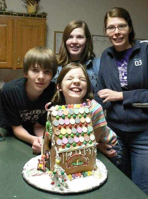 The post of gingerbread past…