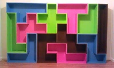How to: Build Pentomino Shelves with The Dye Clan