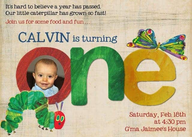 very hungery caterpillar party, first birthday party invitation ideas, how to throw a party