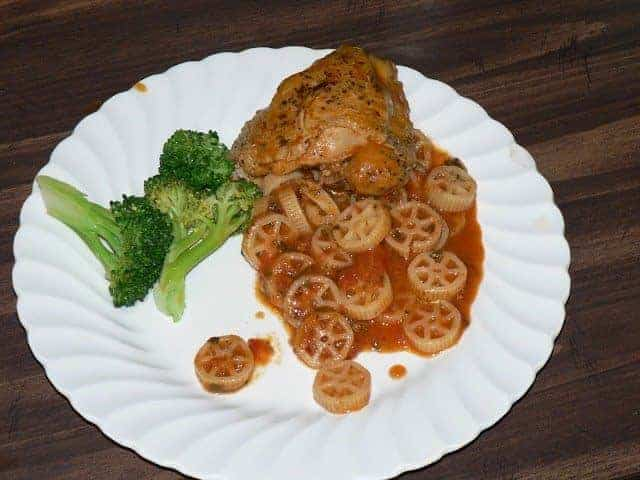 Pioneer Woman's Chicken with Tomatoes and Garlic