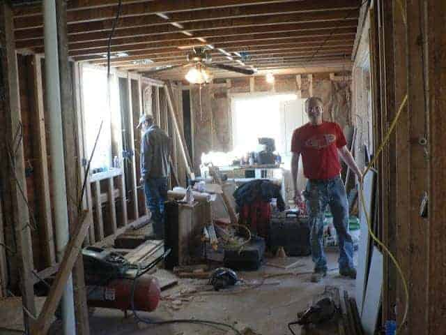 Our Biggest Mess: Insulation and Drywall