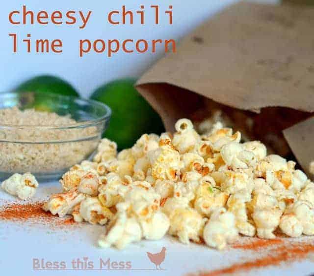 Cheesy Chili Lime Popcorn