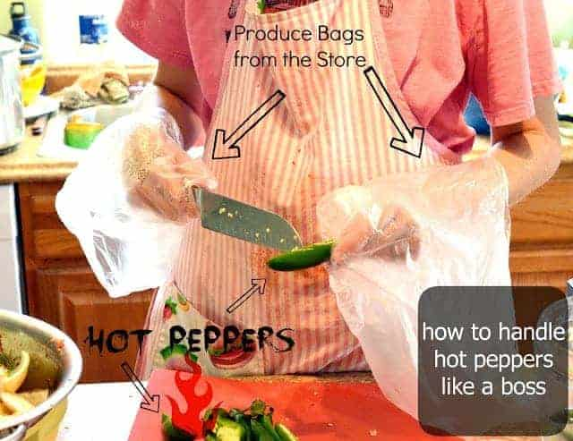 How to Safely Handle Hot Peppers (without buying plastic gloves)