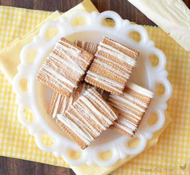 Lemon Filled Shortbread Cookies with White Chocolate and Lemon Sugar