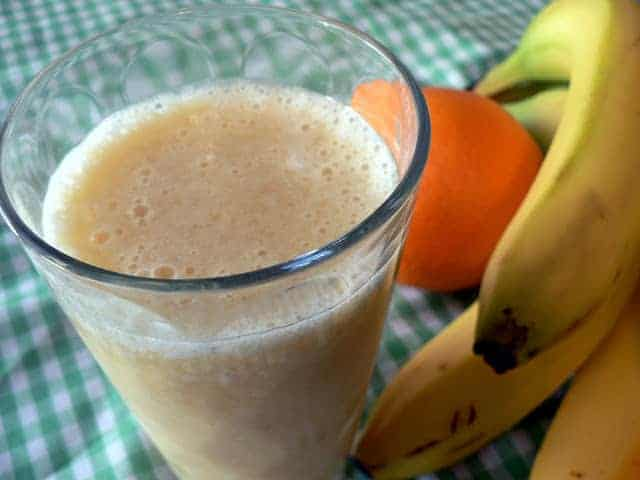 Orange Pineapple Banana Smoothie