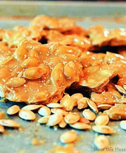 Image of Roasted Pumpkin Seed Brittle