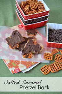 Image of Salted Caramel Pretzel Bark