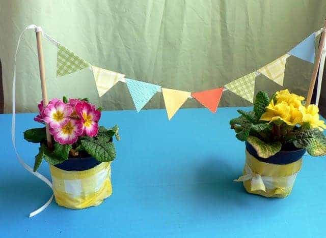 How to: Mini Paper Bunting