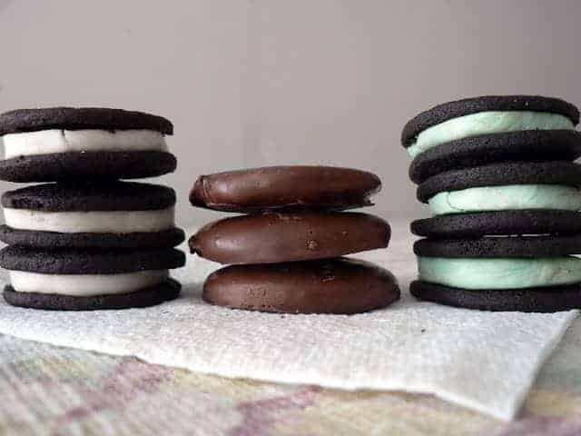 Dark Chocolate Cookies 3 Ways