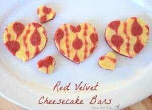 red velvet bars, red velvet dessert with cheesecake, cheesecake with rec velvet, Valentines dessert