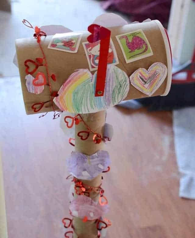 Family Valentine's Mailbox