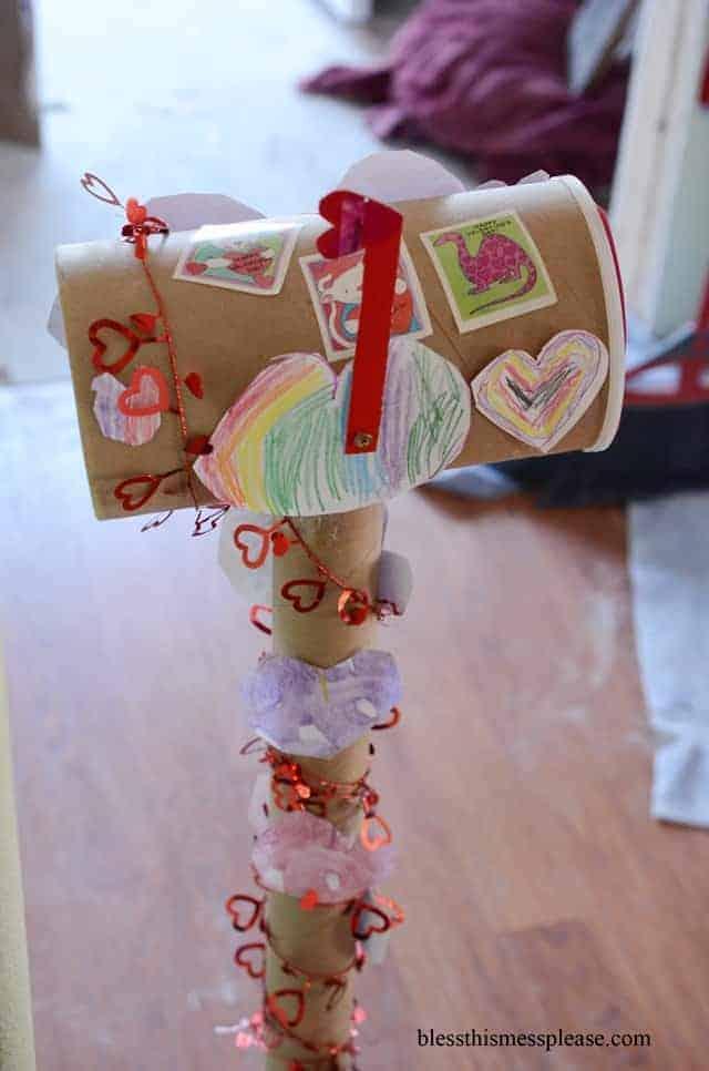 Valentine's mailbox ideas