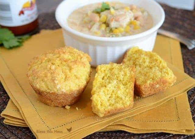 corn muffin recipe, ATK corn muffins, easy corn muffins, muffins with butter