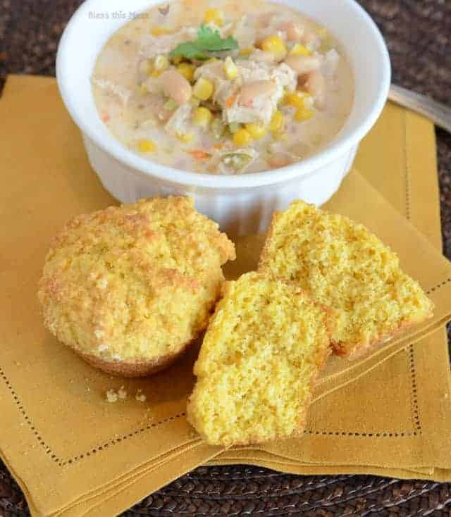 corn muffin recipe, recipe for cornmeal muffins