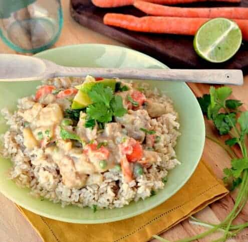 Green Thai Chicken Coconut Curry is sweet and creamy, spicy to taste, and pungent with just the right amount of salt... it's a recipe that you've got to try.