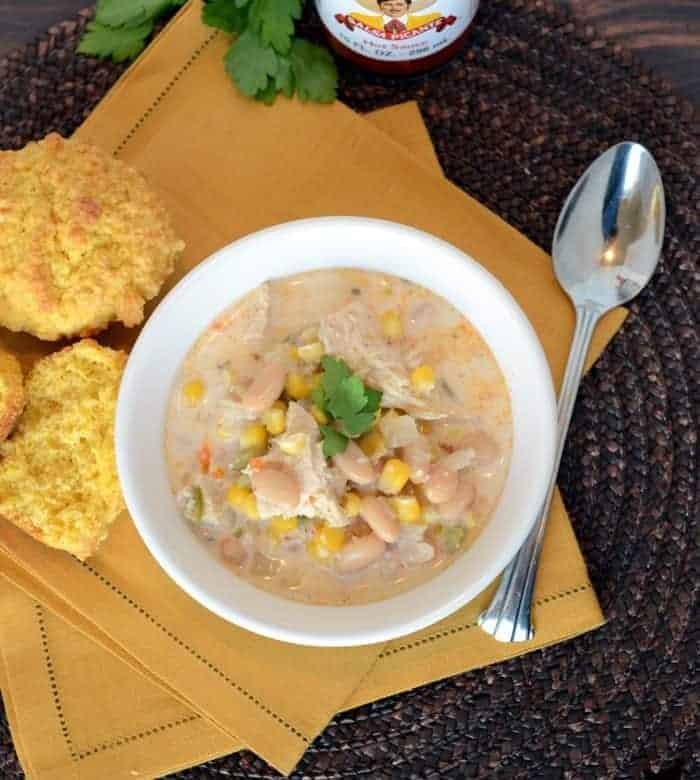 White Chicken Chili – Lightened Up & Healthy