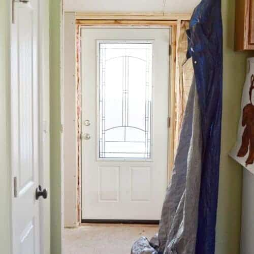 Our Biggest Mess: Nasty Bathroom turned Laundry Room