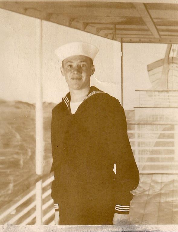 grandpa as a sailor