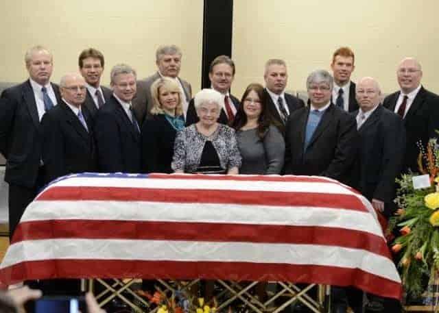Granpa's funeral