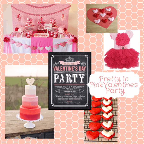 Pretty in Pink Valentine's Party