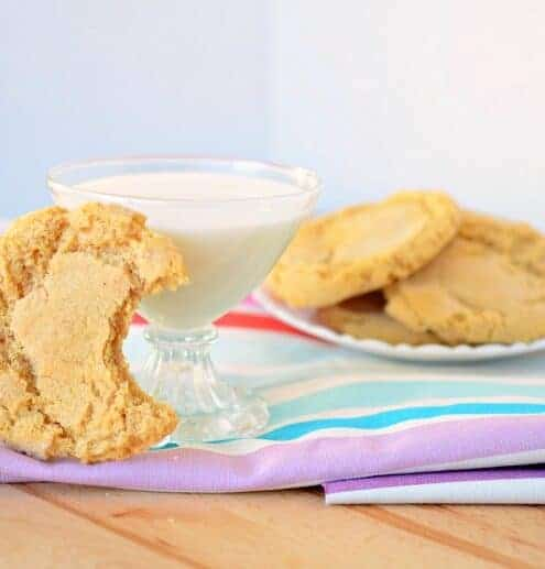 Gluten free peanut butter cookies that everyone can enjoy.