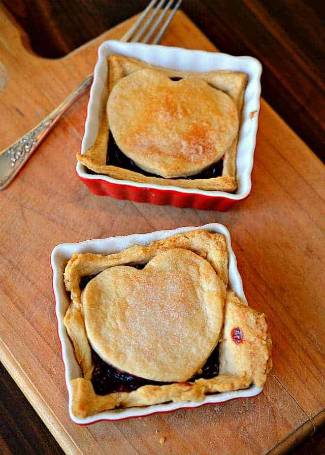 Made with black raspberries & a flaky pie crust, this raspberry cobbler recipe is a favorite family dessert passed down by my Grandmother.
