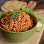 Easy Spanish Rice in the Rice Cooker