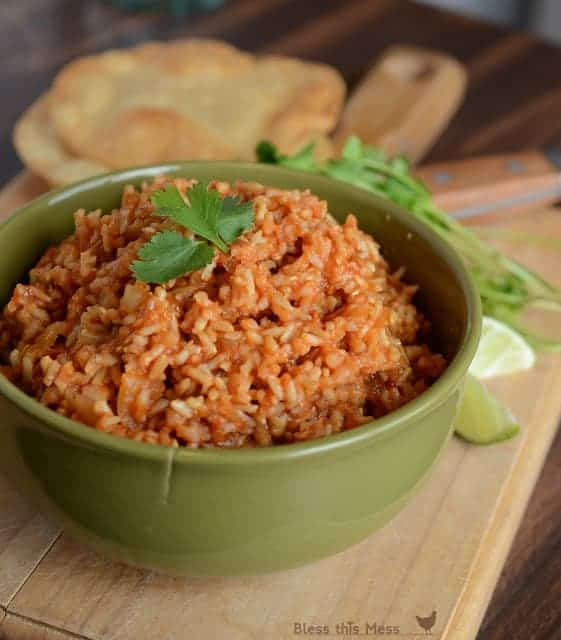 how to make easy spanish rice in the rice cooker with tomatoes