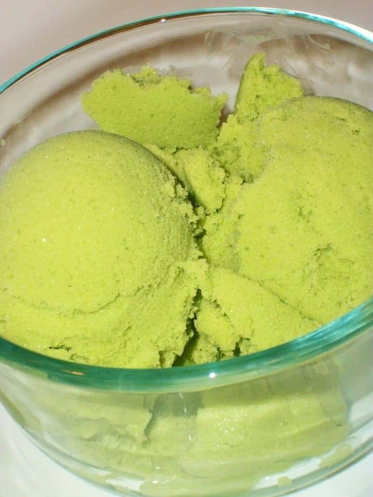 spinach ice cream