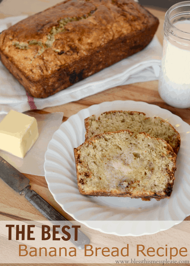 ATK's perfect banana bread with words